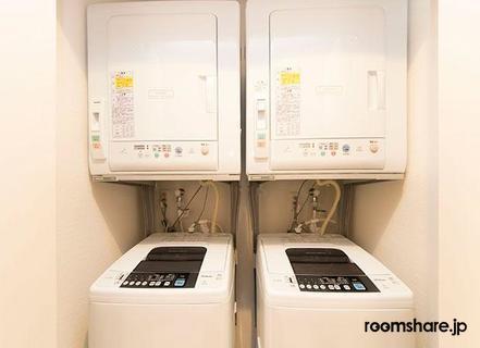 Japan accommodation ランドリー