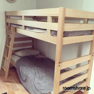 ルームシェア ベッド