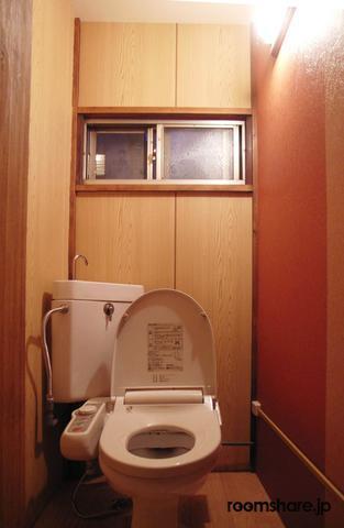 Japan accommodation トイレ