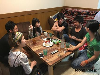 photo of Japan roommate シェアメイト