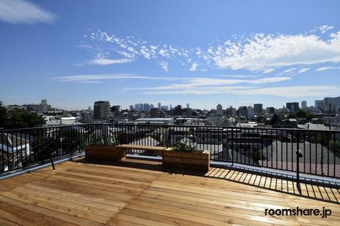 Japan accommodation 眺望