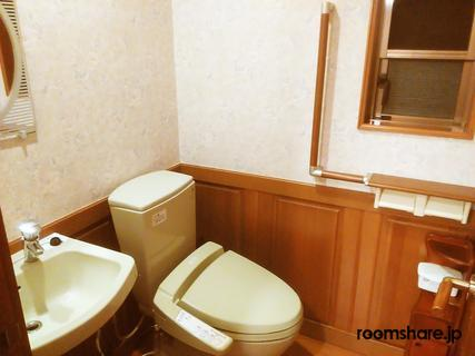 Japan accommodation トイレ