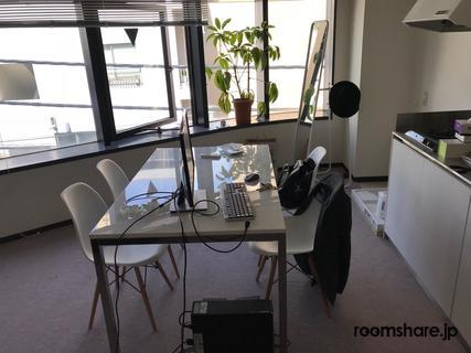 Japan office share 応接室