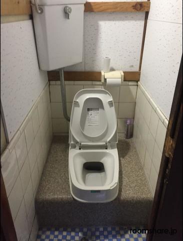 シェアハウス ゲストハウス トイレ