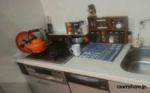 ルームシェア キッチン