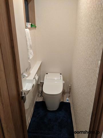 ルームシェア トイレ