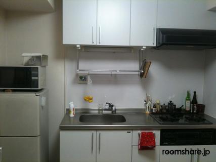 Japan sublet キッチン