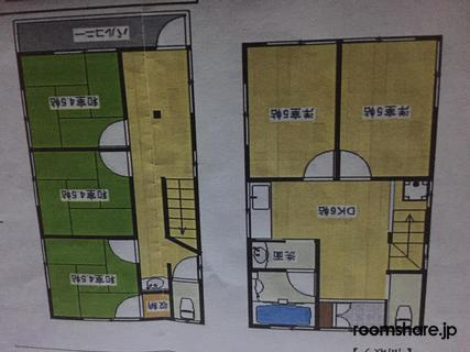Japan accommodation 間取図