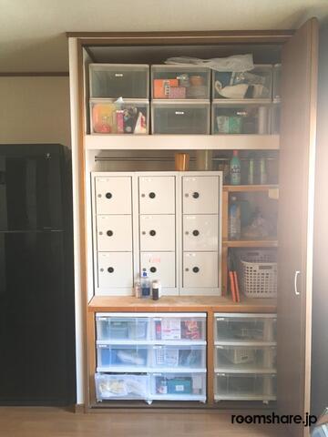 Japan accommodation 収納